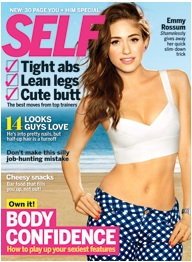 Self Magazine, acupressure points for happiness