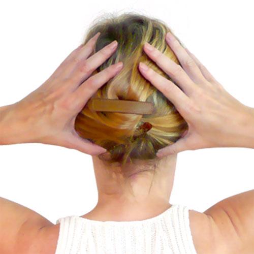 Anti-aging facial acupressure