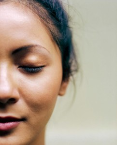 Acupressure face points